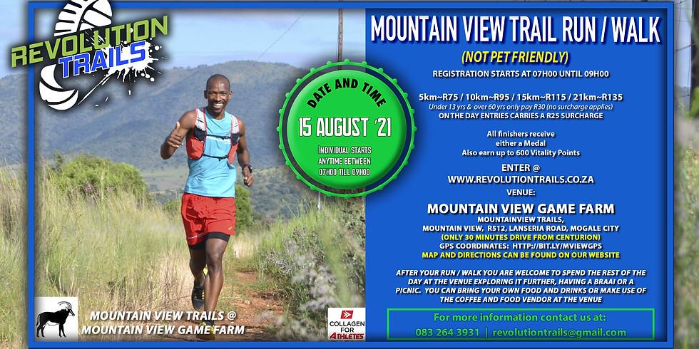 Mountain View Trail Run/Walk