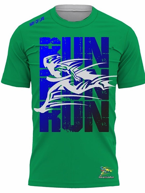 AdventureRun T-shirt -Green