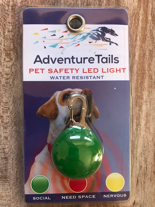 Pet Safety LED Light - Green