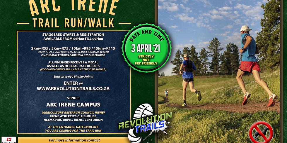 ARC Irene Trail Run/Walk (Venue Launch)