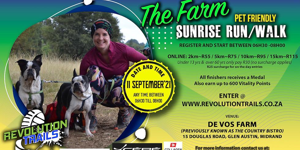 The Farm SunRise Run/Walk