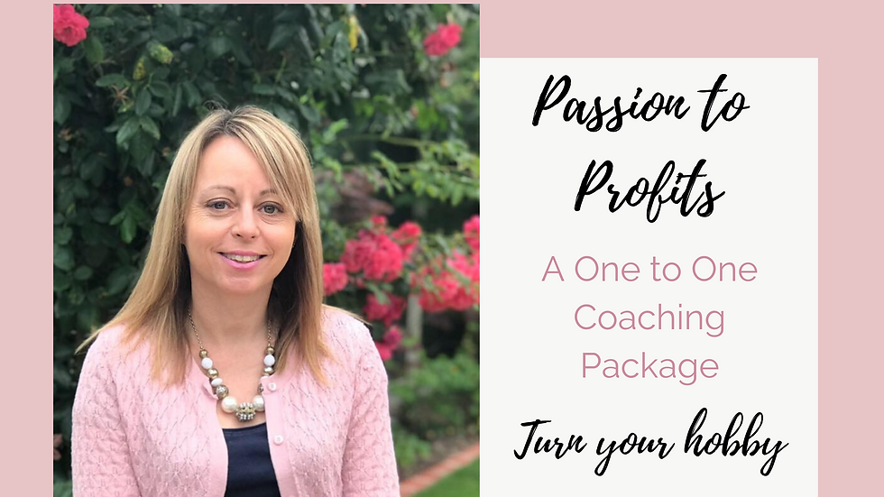 Passion to Profits - A One to One Coaching P