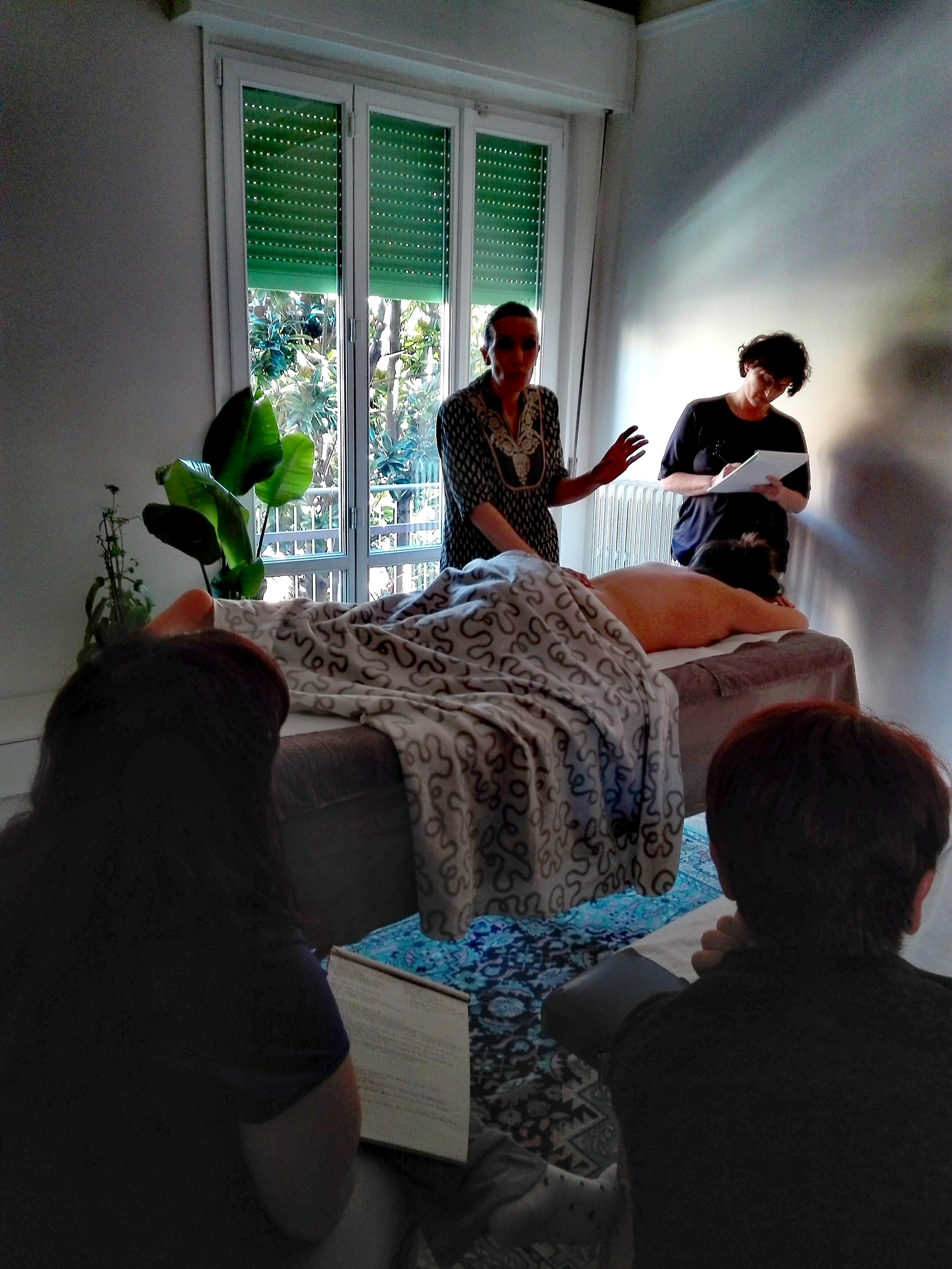 Corso Massaggio Destressante