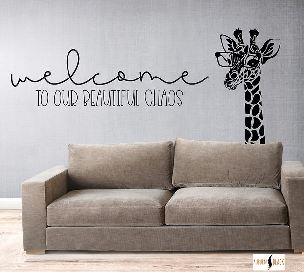 Welcome to our Beautiful Chaos Wall Art