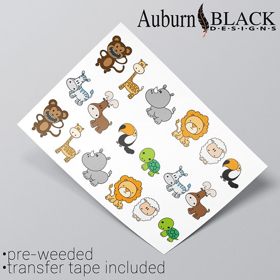 Cute Animals Sticker Set 2