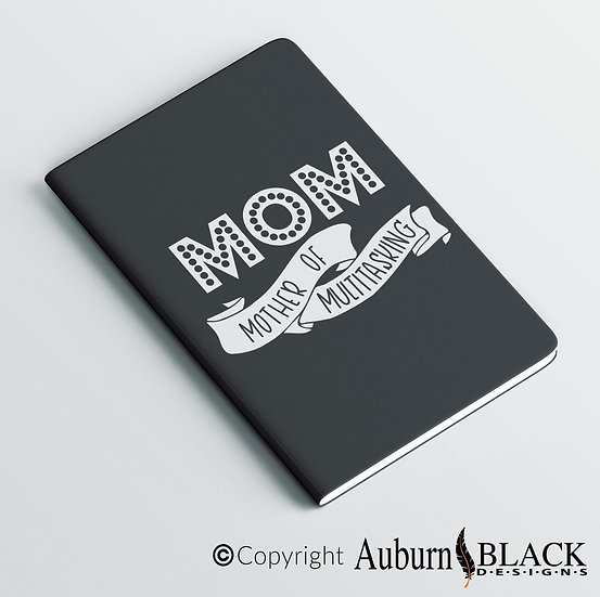 Mom mother of multitasking note book... notebook Vinyl Decal