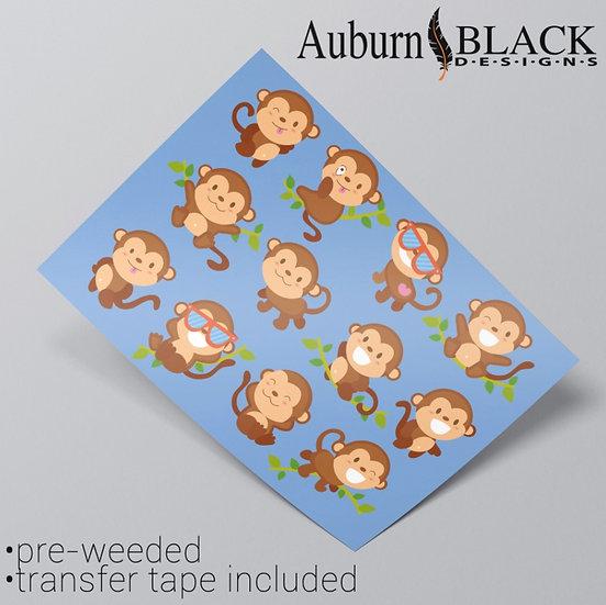 Cheeky Monkey Stickers