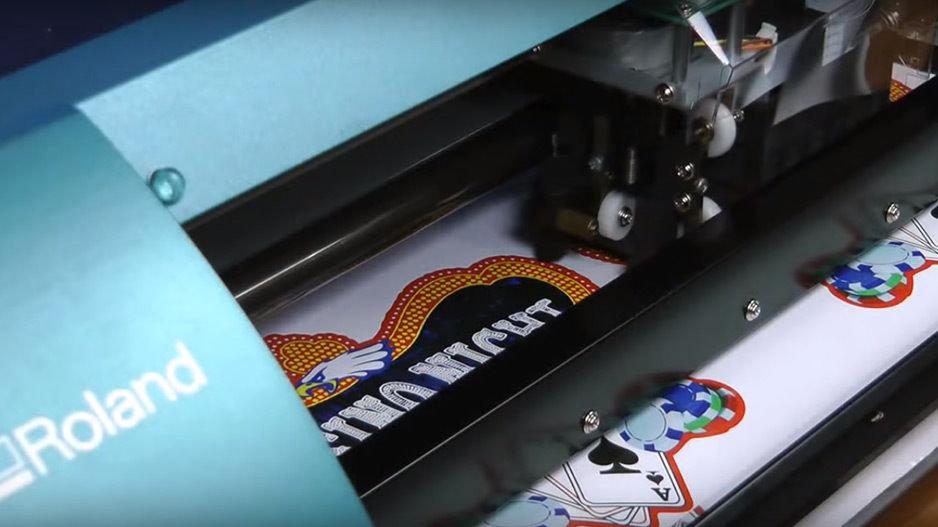 Bulk Logo Labels/Stickers Custom Print & Cut