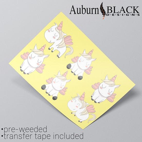 Moomin Style Unicorn Stickers