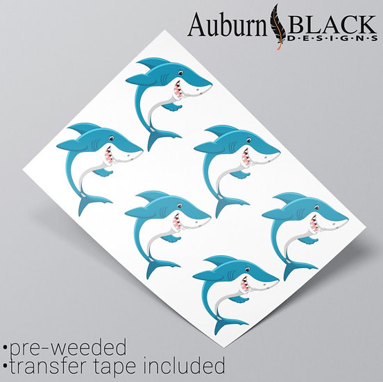 Shark Vinyl Stickers