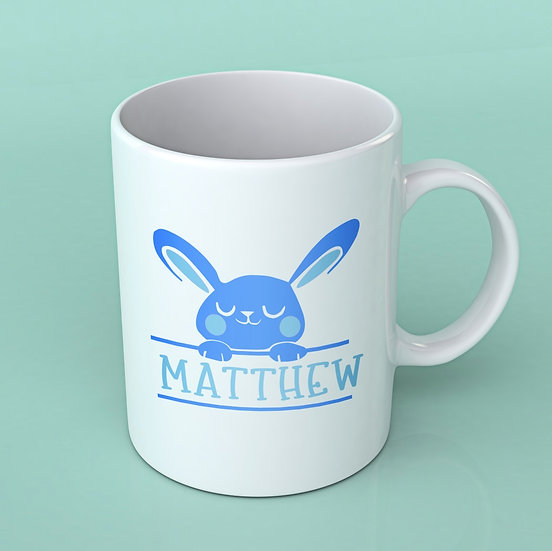 Easter Bunny Mug Vinyl Personalised