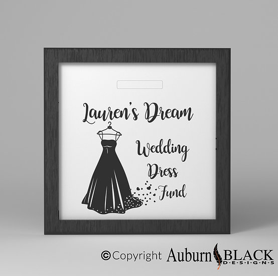 Wedding Fund Vinyl Decal