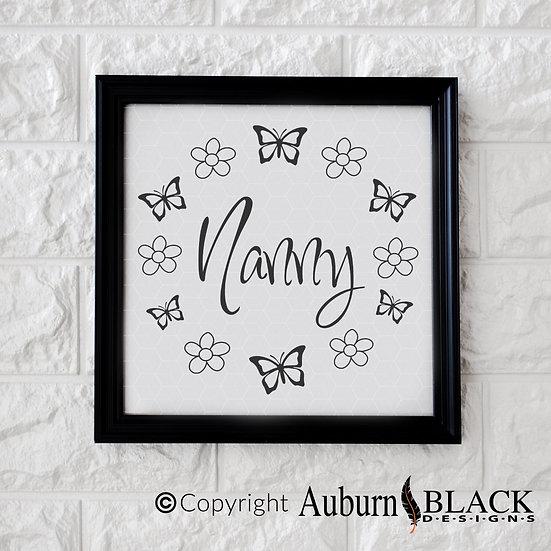 Nanny Floral Wreath