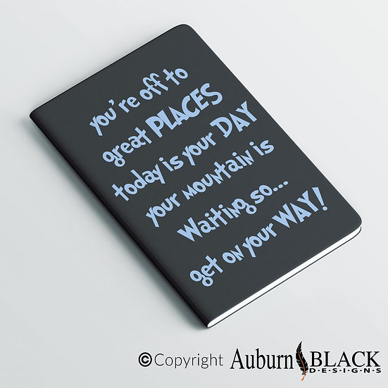 You're off to great places... motivational notebook Vinyl Decal