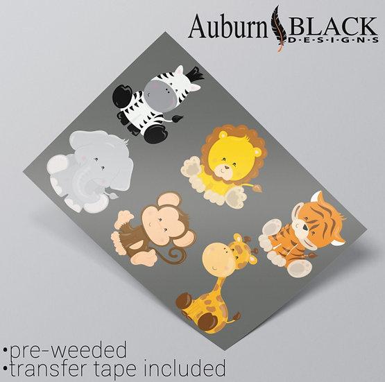 Super Cute Animal Vinyl Stickers