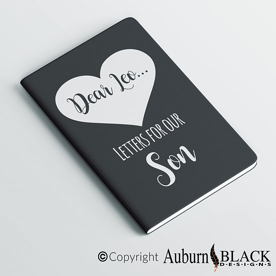 Letters for our... personalised notebook Vinyl Decal