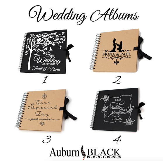Wedding Guest Book - Varied