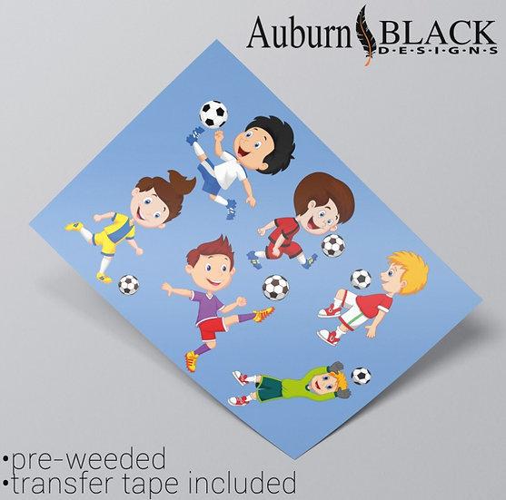 Footballer Stickers