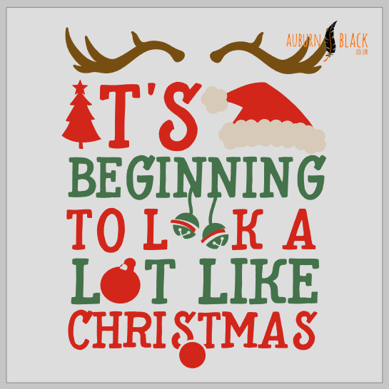 It's beginning to look a lot like Christmas vinyl decal