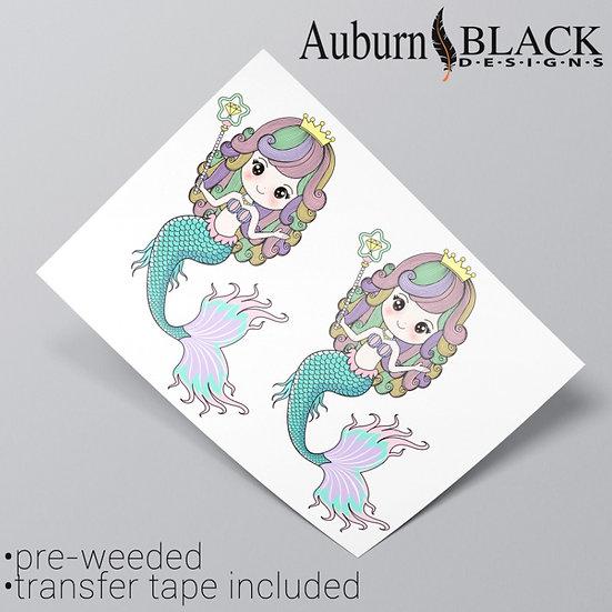Mermaid Vinyl Stickers