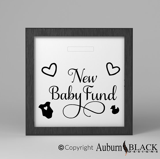 New Baby Fund Vinyl Decal