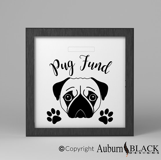 Pug fund Vinyl Decal