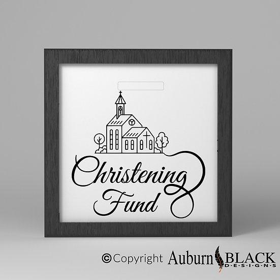 Christening Fund Church Vinyl Decal