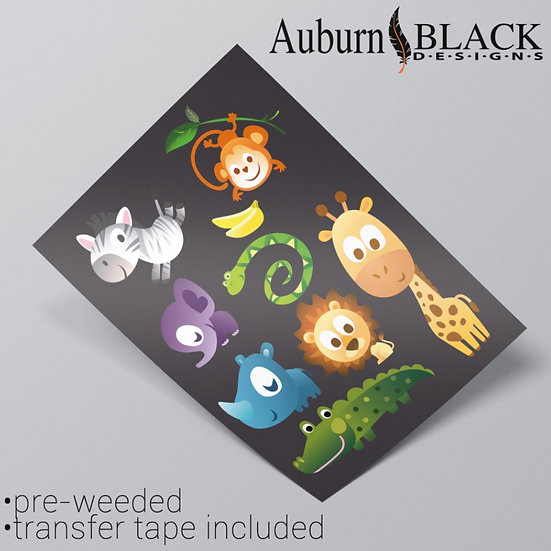 Bright Eyes Animal Stickers