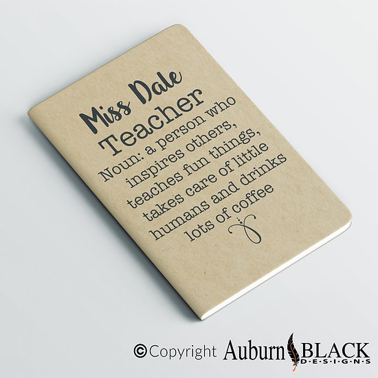 Definition Noun Teacher Notebook Vinyl