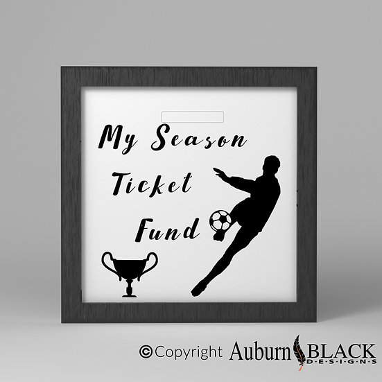 My season ticket fund Frame Vinyl Decal