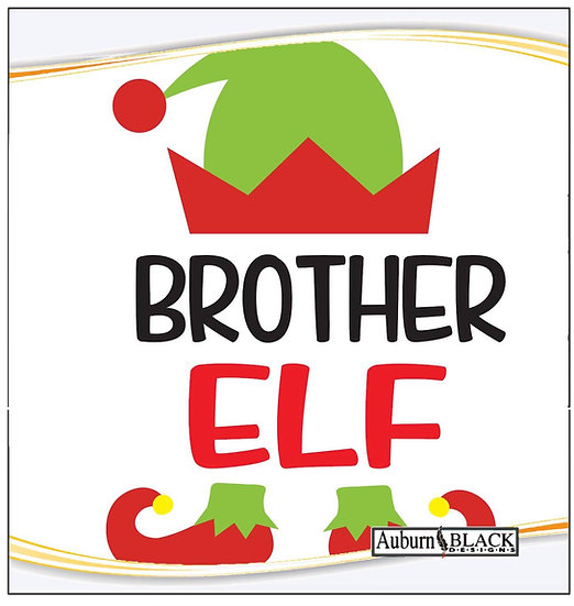 Brother Elf Heat Transfer Vinyl Sticker