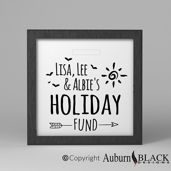 Holiday Fund Vinyl Decal