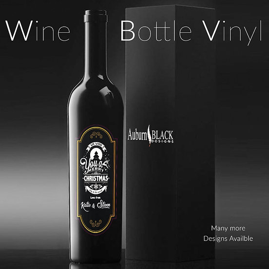 Personalised Wine Bottle Label