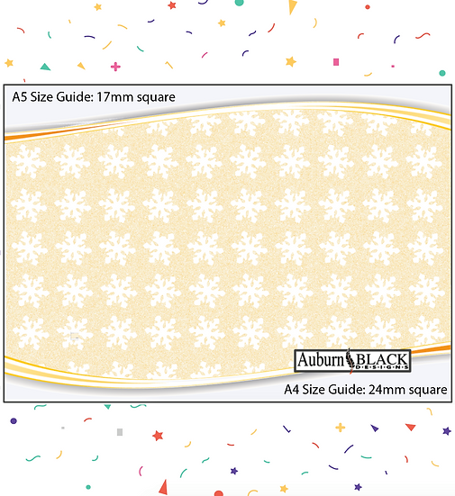 Snowflake Stickers Set 2