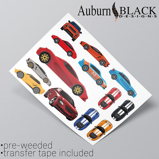 Sports cars Vinyl Stickers