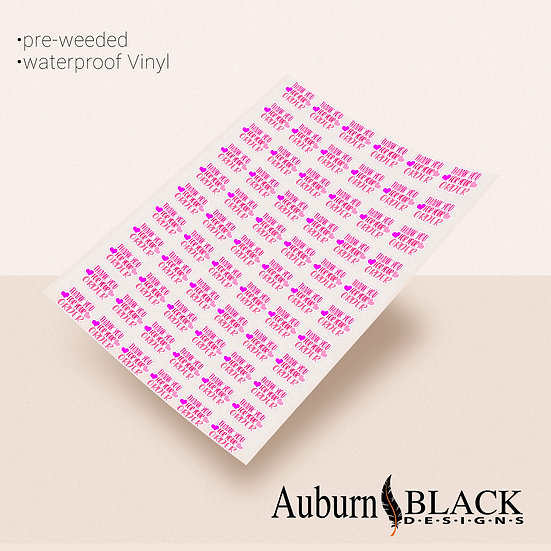Thank you for your order labels 011