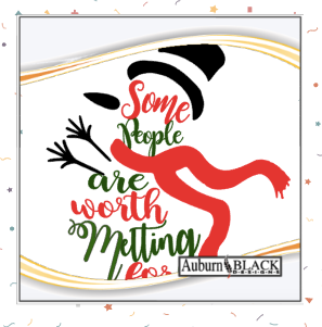 Some people are worth melting for vinyl decal