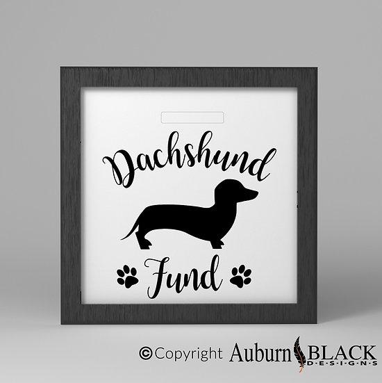 Dascshund fund Vinyl Decal