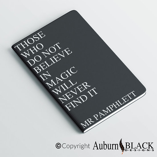 Those who do not believe... notebook Vinyl Decal