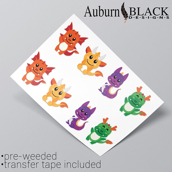 Baby Dragon Stickers