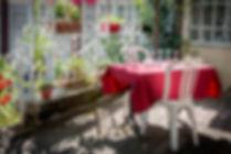 Restaurant avec terrasse - www.latabledantan.com