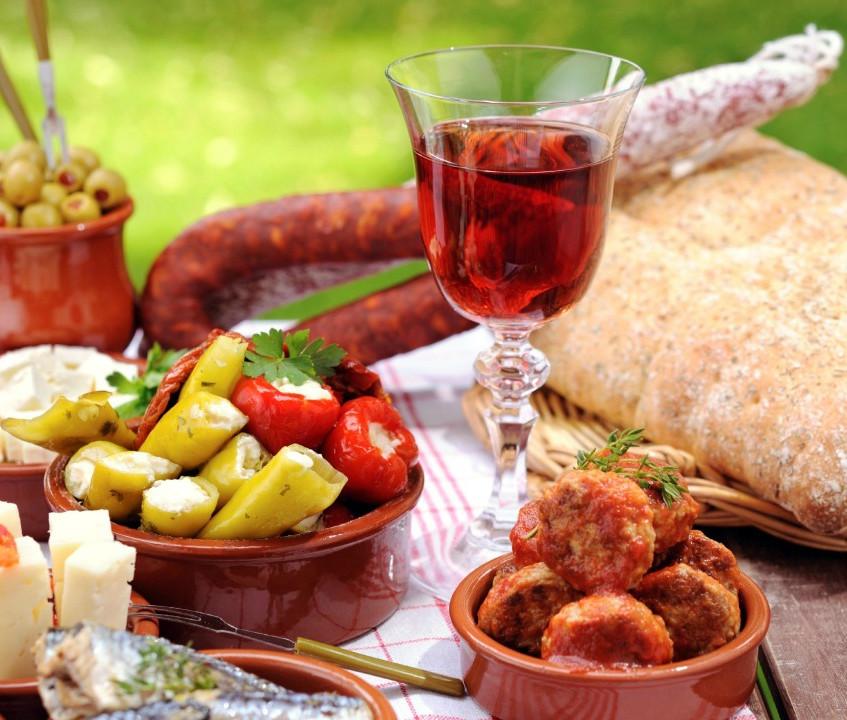 еда и туризм - отличное сочетание