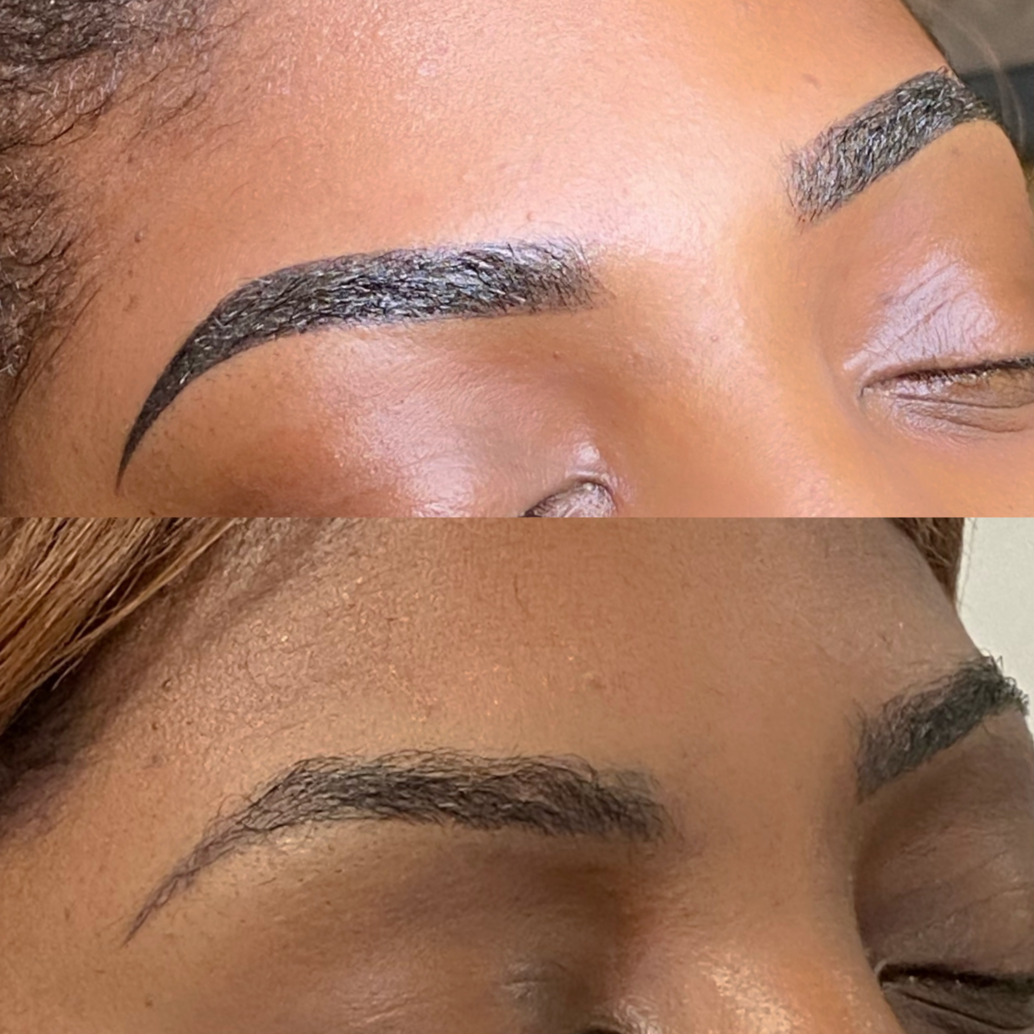 CORRECTION/COVER UP OLD BROW TATTOOS