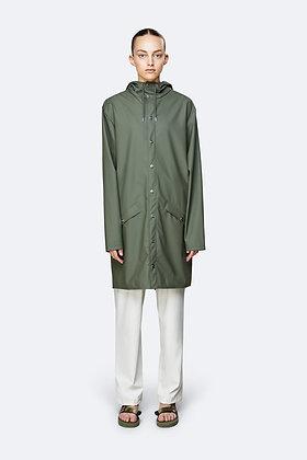 RAINS - Long Jacket Olive