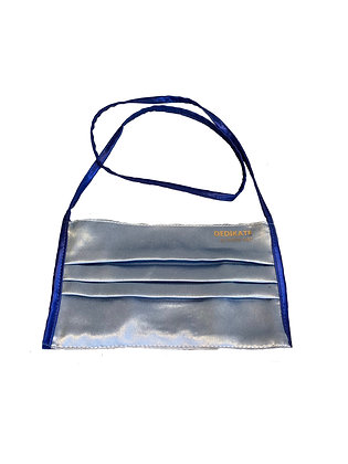 DEDIKATE - Masque cordon satin gris bleu