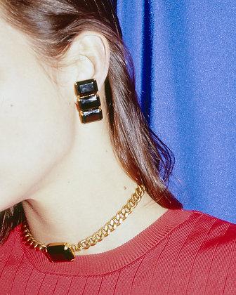 Boucle d'oreilles clip Bruyere