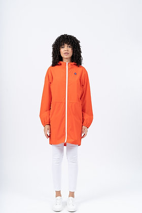 FLOTTE Imperméable Long Amelot Tomate