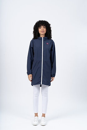 FLOTTE Imperméable Long Amelot Indigo