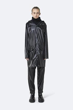 RAINS - Long jacket Black