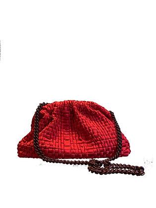 MARIA LA ROSA - Sac clutch rouge